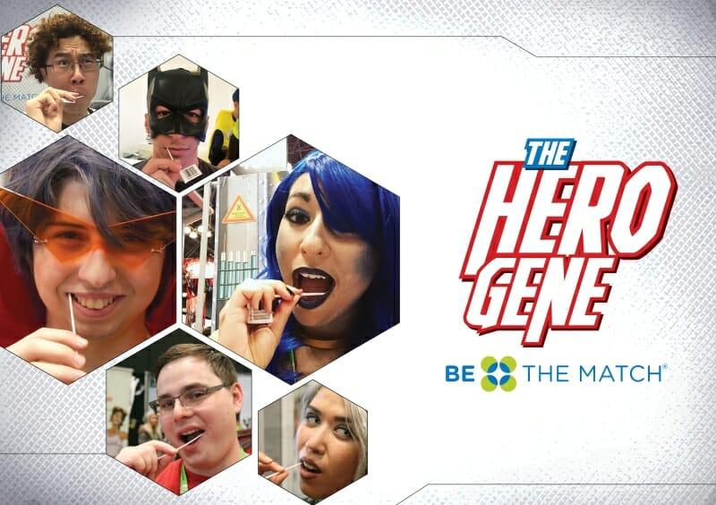 Hero Gene National Bone Marrow Registry Area 23 Be the Match