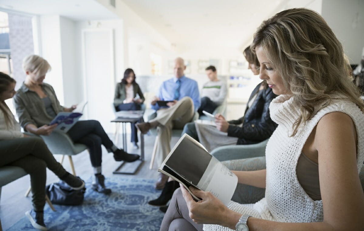 Marketers share appealing content mix for waiting room-bound patients