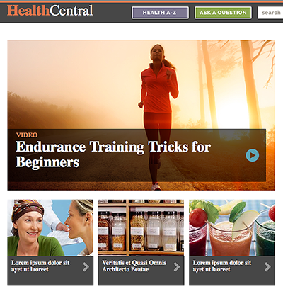 Remedy's HealthCentral.com is slated for a makeover