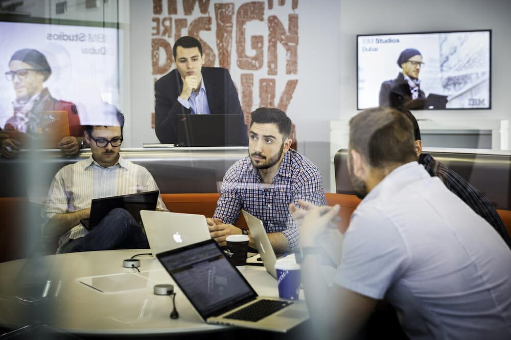 IBM designers workplace