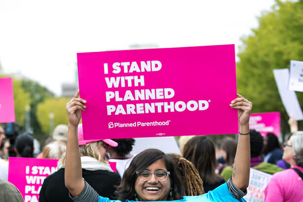 I Stand With Planned Parenthood campaign