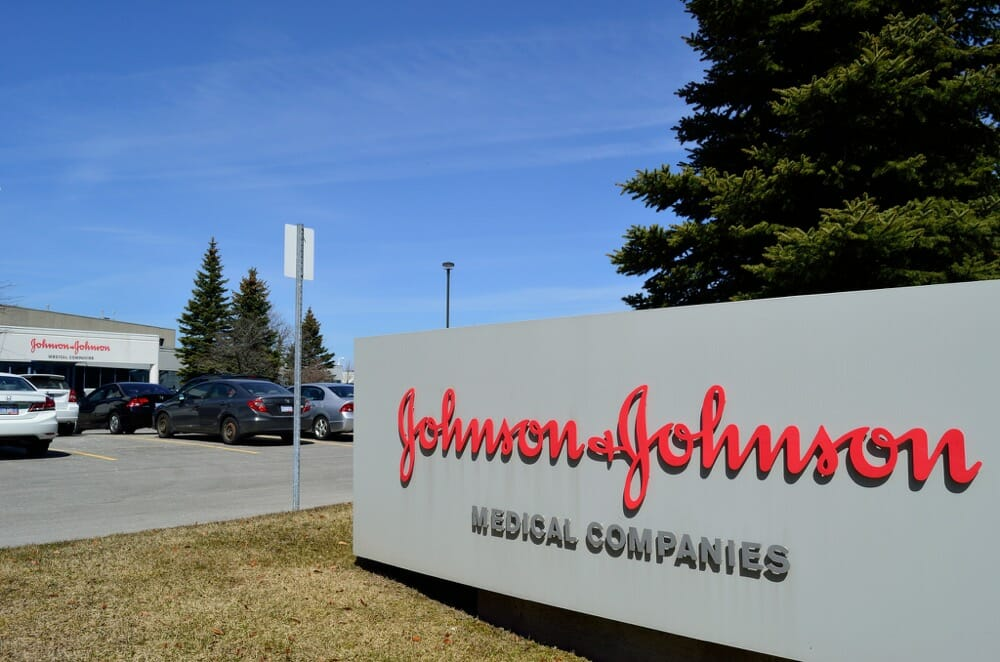 Johnson and Johnson corporate building