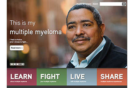 Klick turned its digital expertise to mymultiplemyeloma.com