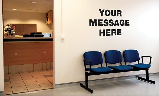 waiting room (point of care)