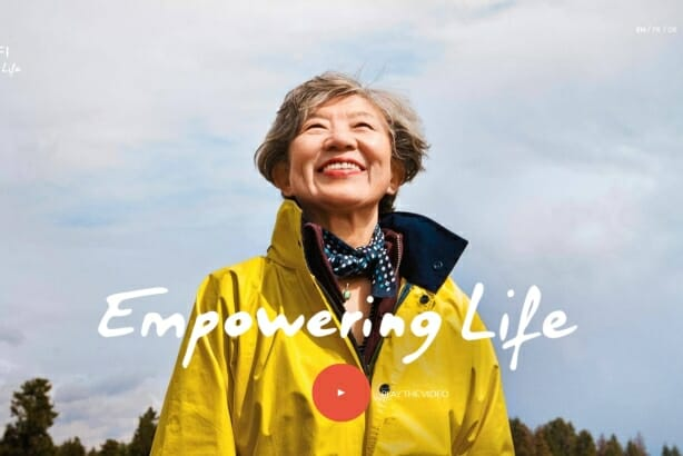 Sanofi Empower Life corporate branding campaign