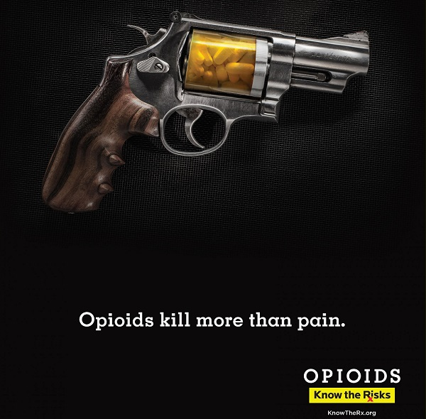 Know the Rx Gun The Cuyahoga County Opioid Marketing Task Force, Doner