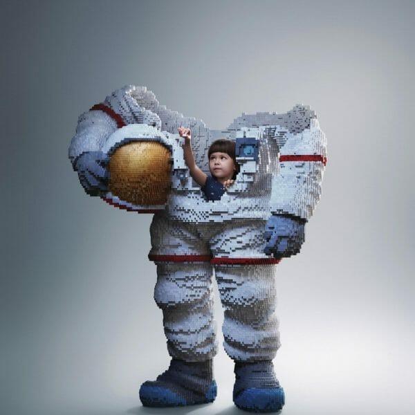 Build the Future, Astronaut Lego, Ogilvy