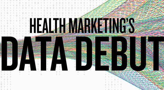 health marketing's data debut
