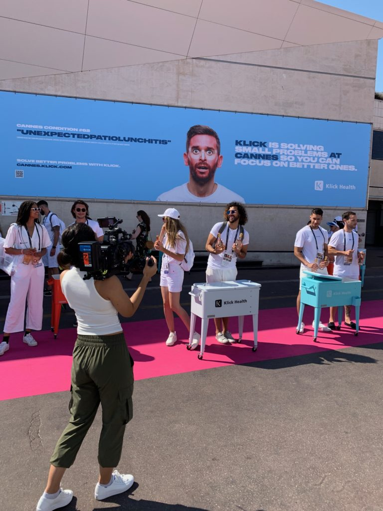 klick street teams at cannes 2019