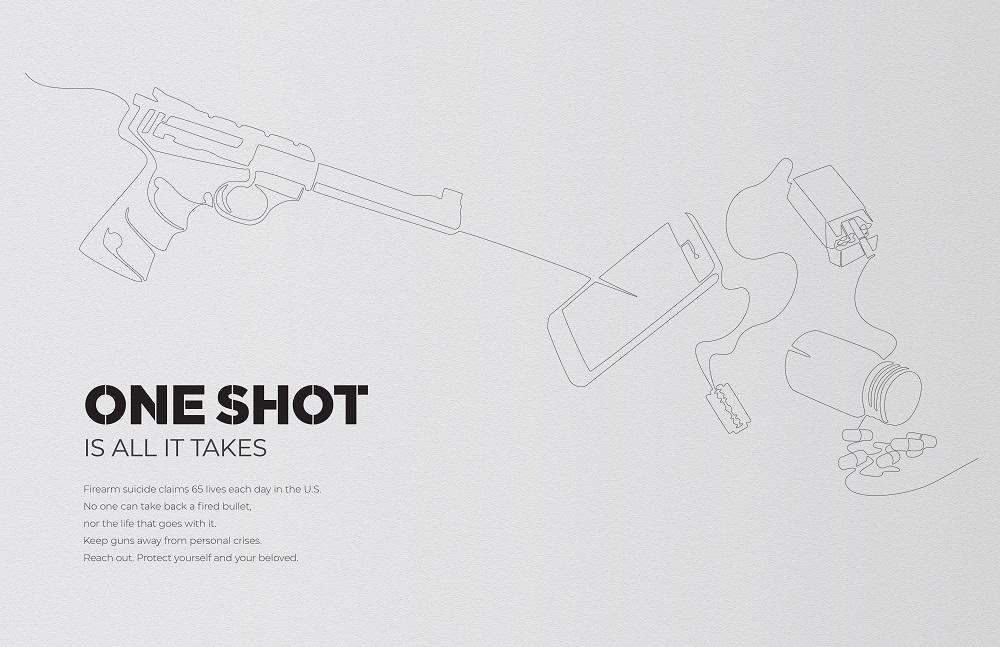 nam do inspire the end gun violence one shot
