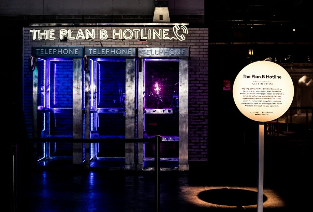 Plan B One-Step- and 29Rooms Shine a (Neon) Light on Emergency Contraception-01