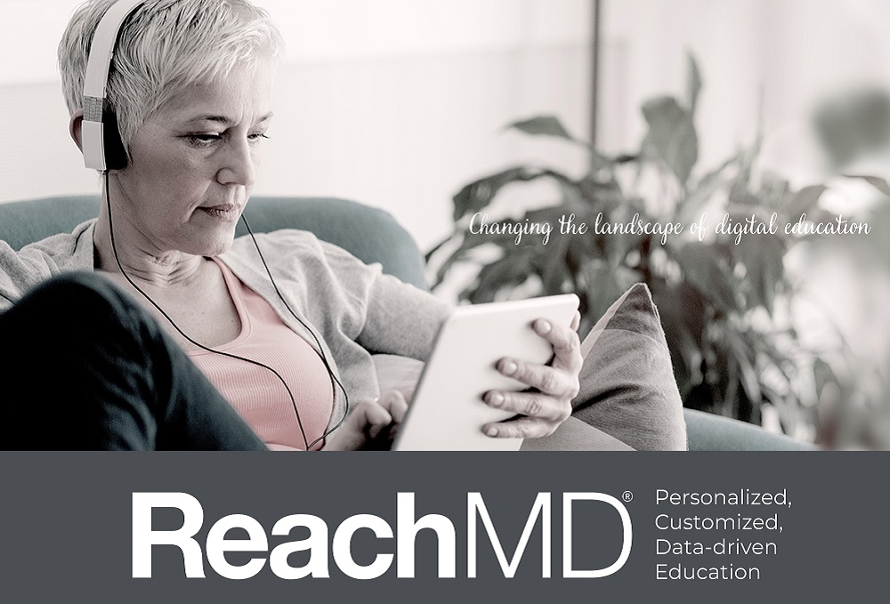 ReachMD- Personalized- Customized- Data-driven Education