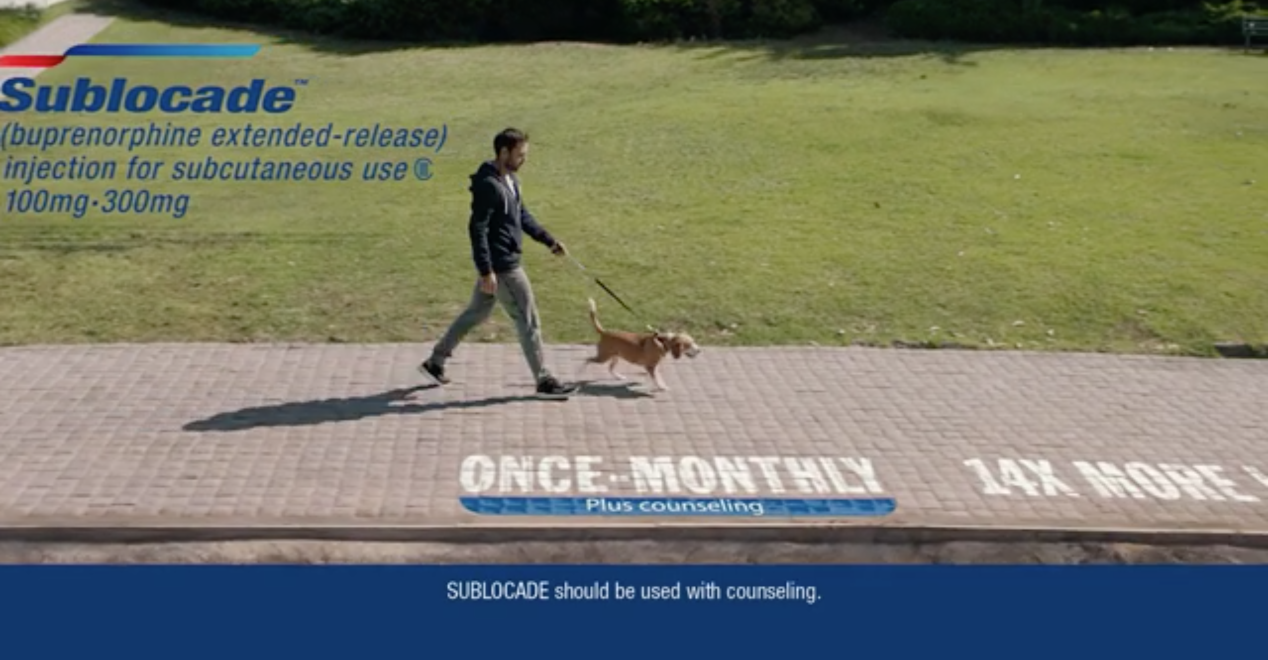 Watch: Indivior shows patients on top of their opioid recovery – literally