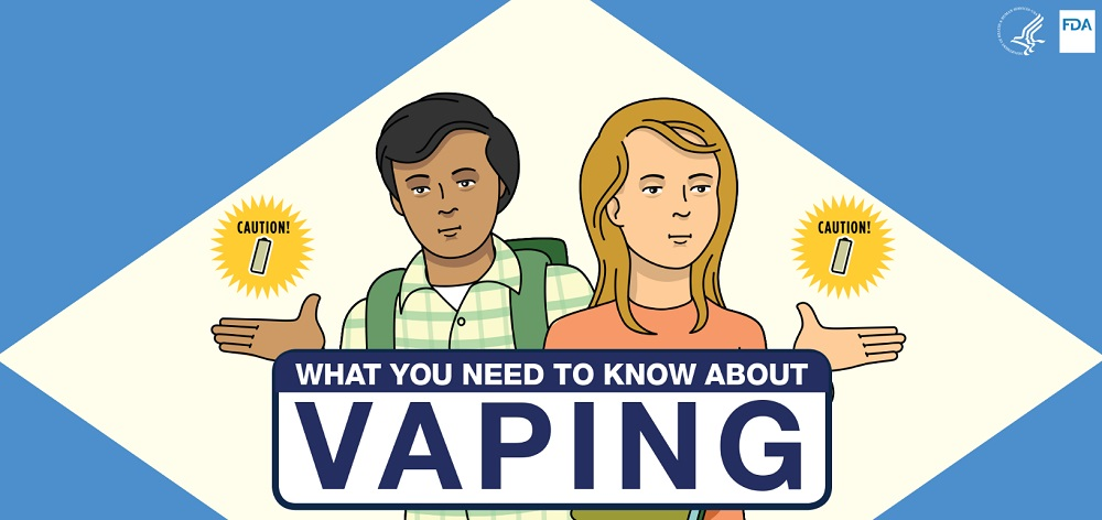 FDA expands vaping education efforts to middle schoolers