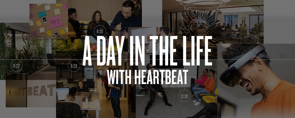 A Day in the Life of Best Places to Work winner Heartbeat