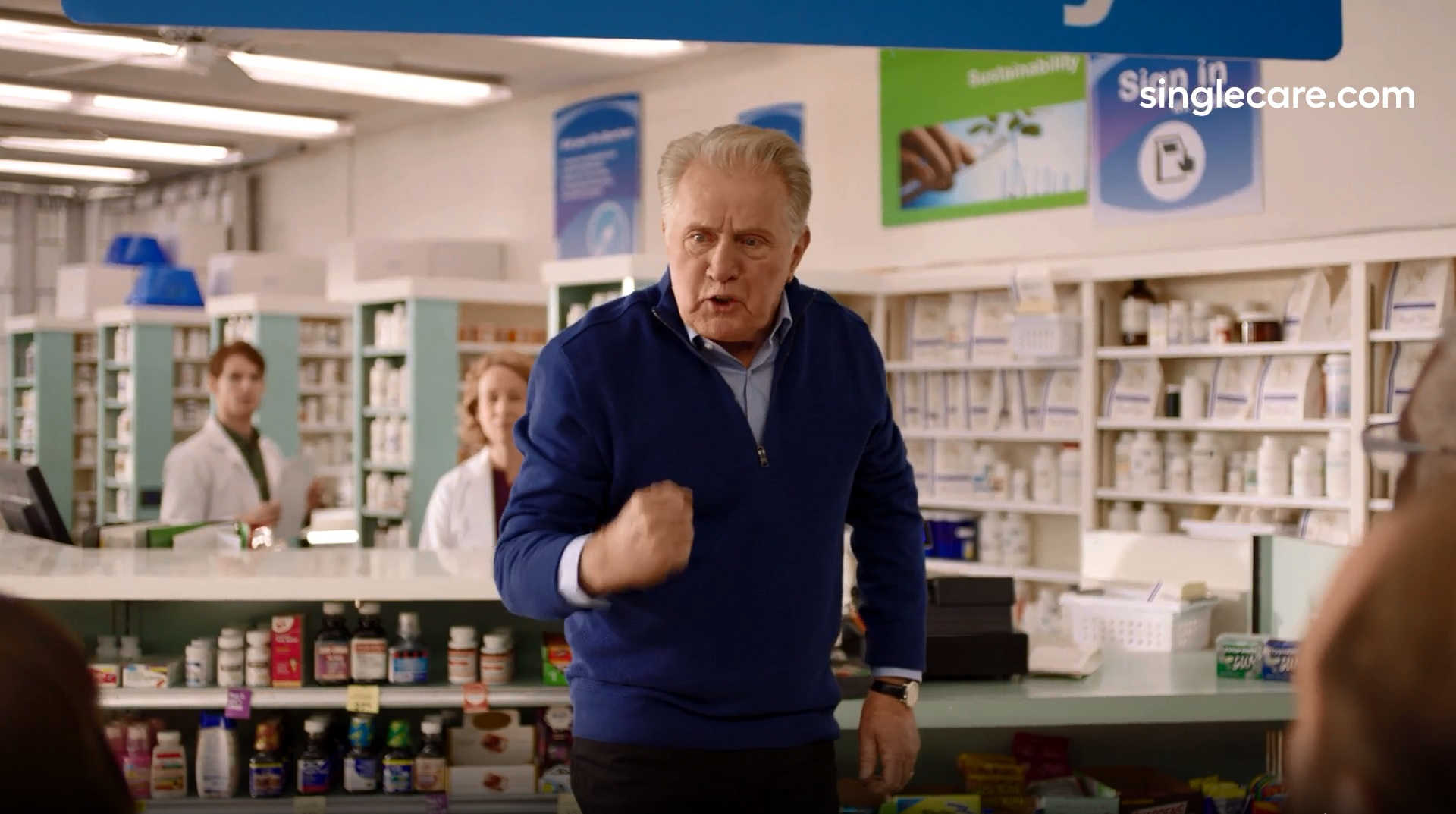 Watch: Martin Sheen rants about drug prices in SingleCare ad