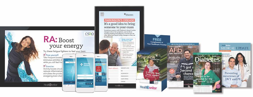 Health Monitor Network product portfolio