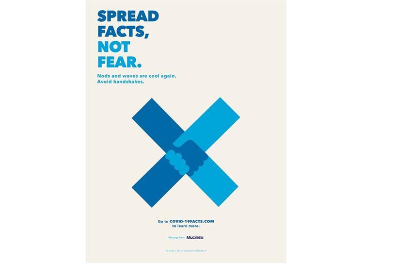 mucinex coronavirus campaign