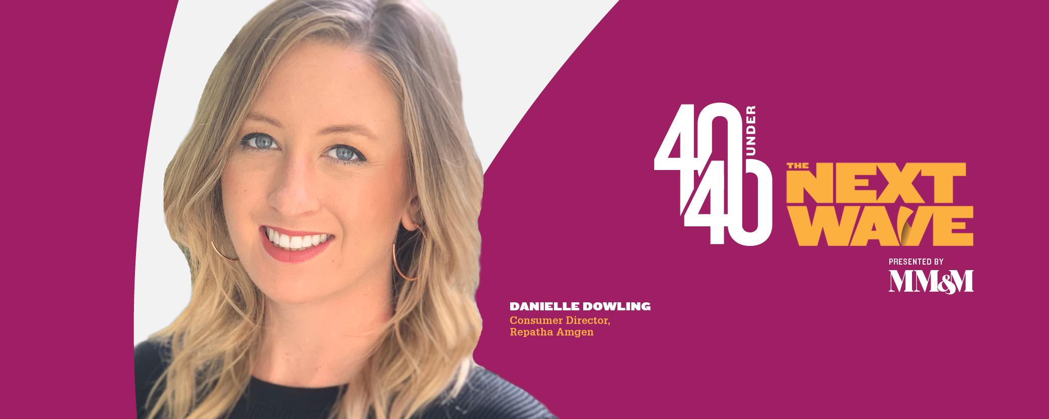 40 Under 40 2020: Danielle Dowling, Amgen