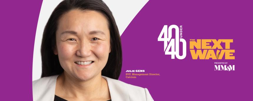 40 Under 40 Social Congrats Profile Headshot Julie-Gens