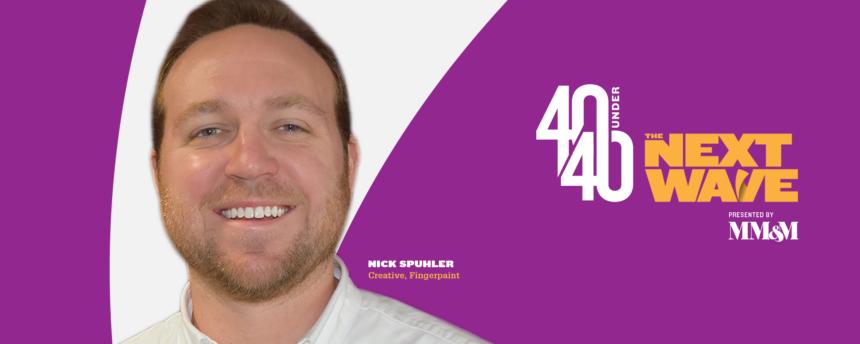 40 Under 40 Social Congrats Profile Headshot Nick-Spuhler