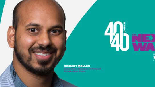 40 Under 40 Social Congrats Profile Headshot Nishant-Maller