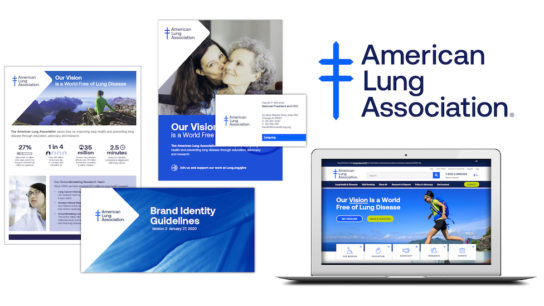 american lung association rebrand