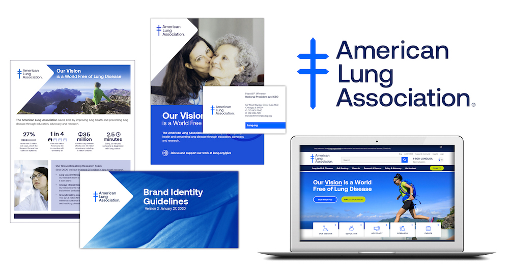 American Lung Association unveils rebrand while responding to coronavirus
