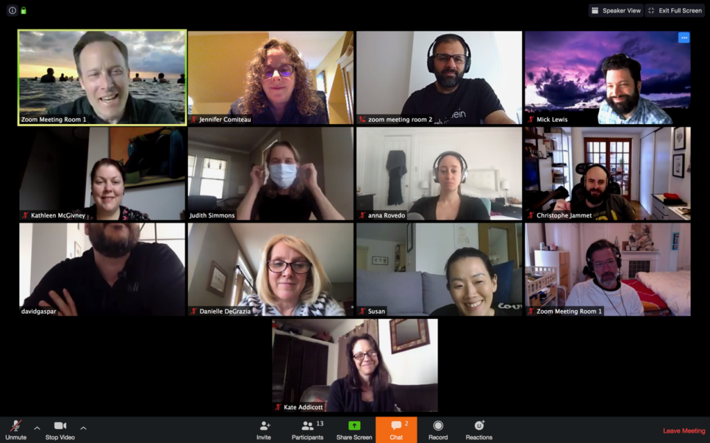 Gather's weekly virtual roundtables