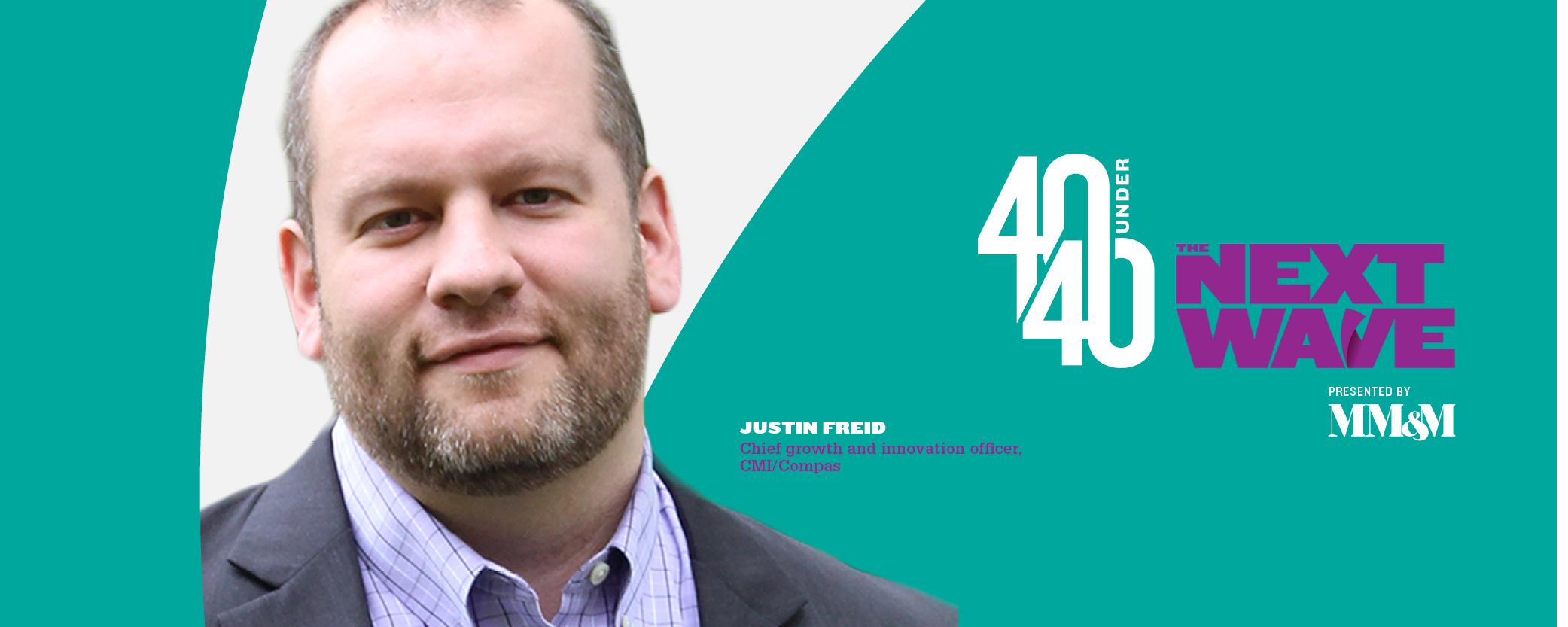 40 Under 40 2020: Justin Freid, CMI/Compas