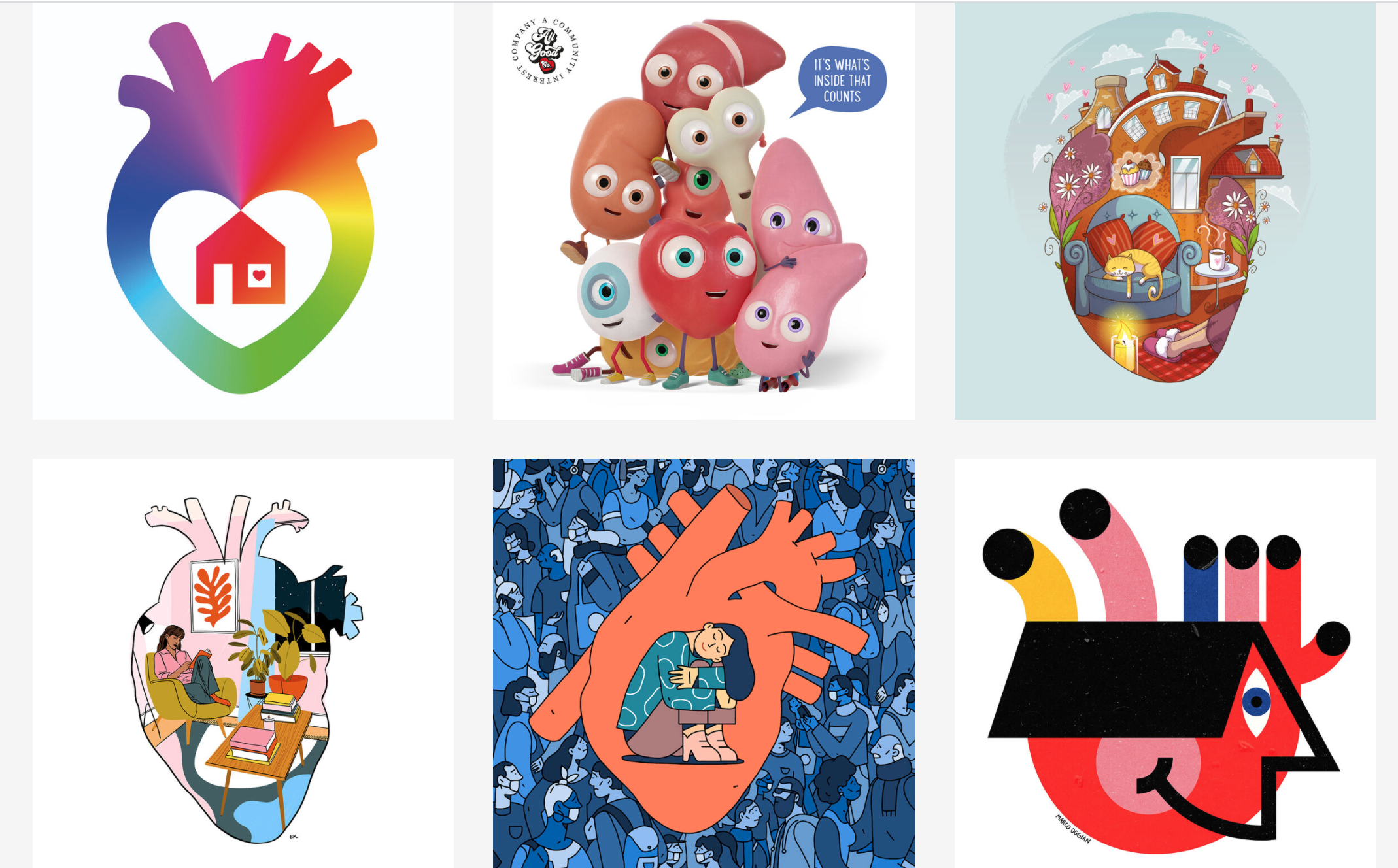 Campaign: Artists draw hearts to encourage U.K. residents to be organ donors