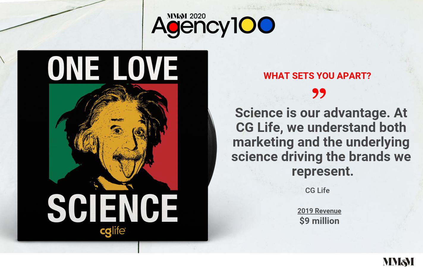 Agency 100 2020: CG Life