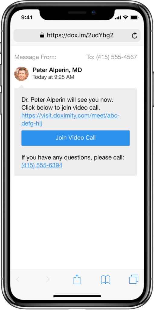 doximity-dialer-video-call-patient-secured-message