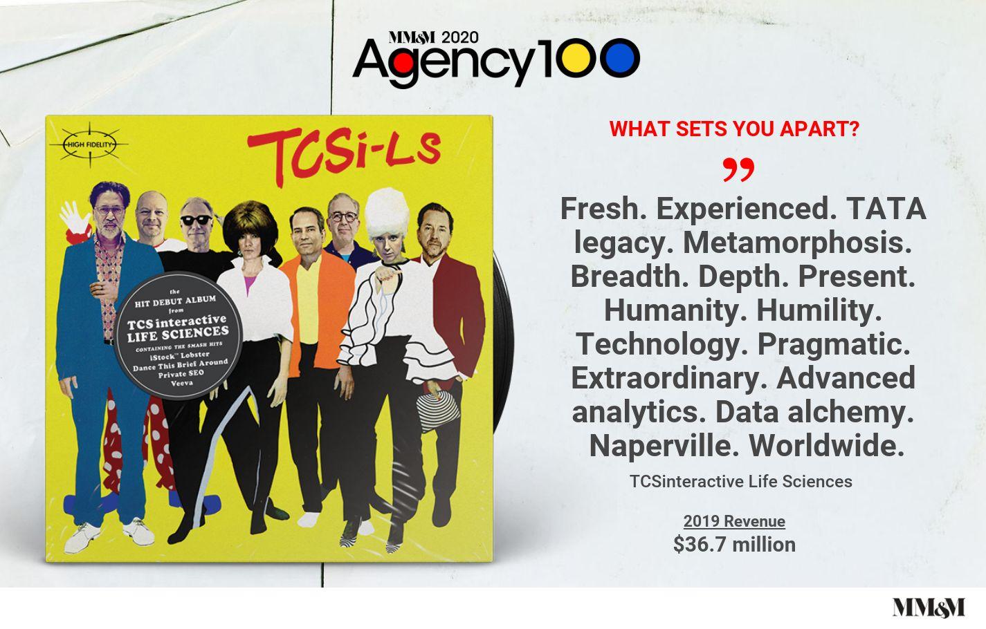 Agency 100 2020: TCSinteractive Life Sciences