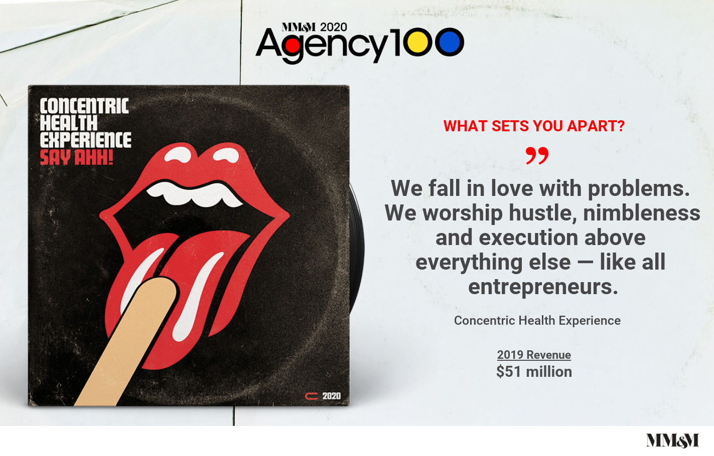 Agency 100 2020: Concentric Health Experience