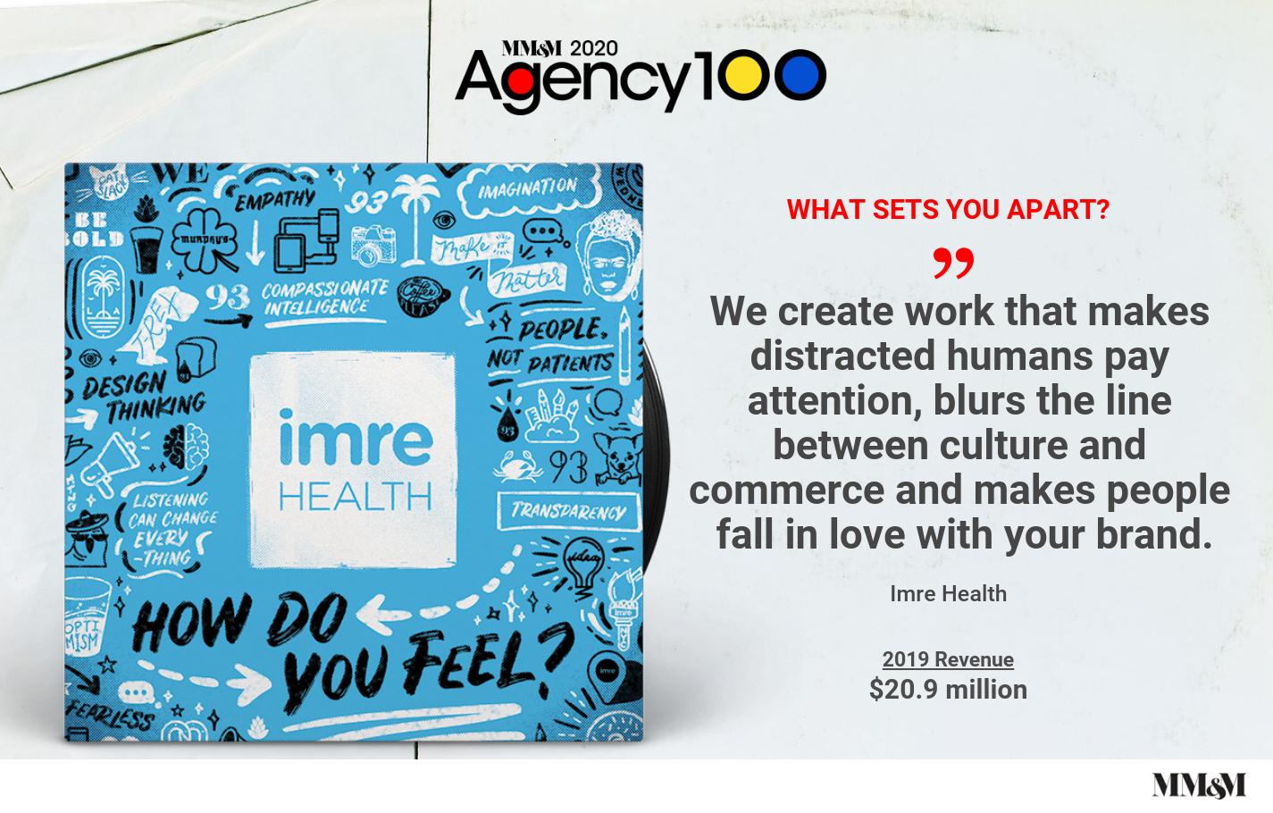 Agency 100 2020: Imre Health