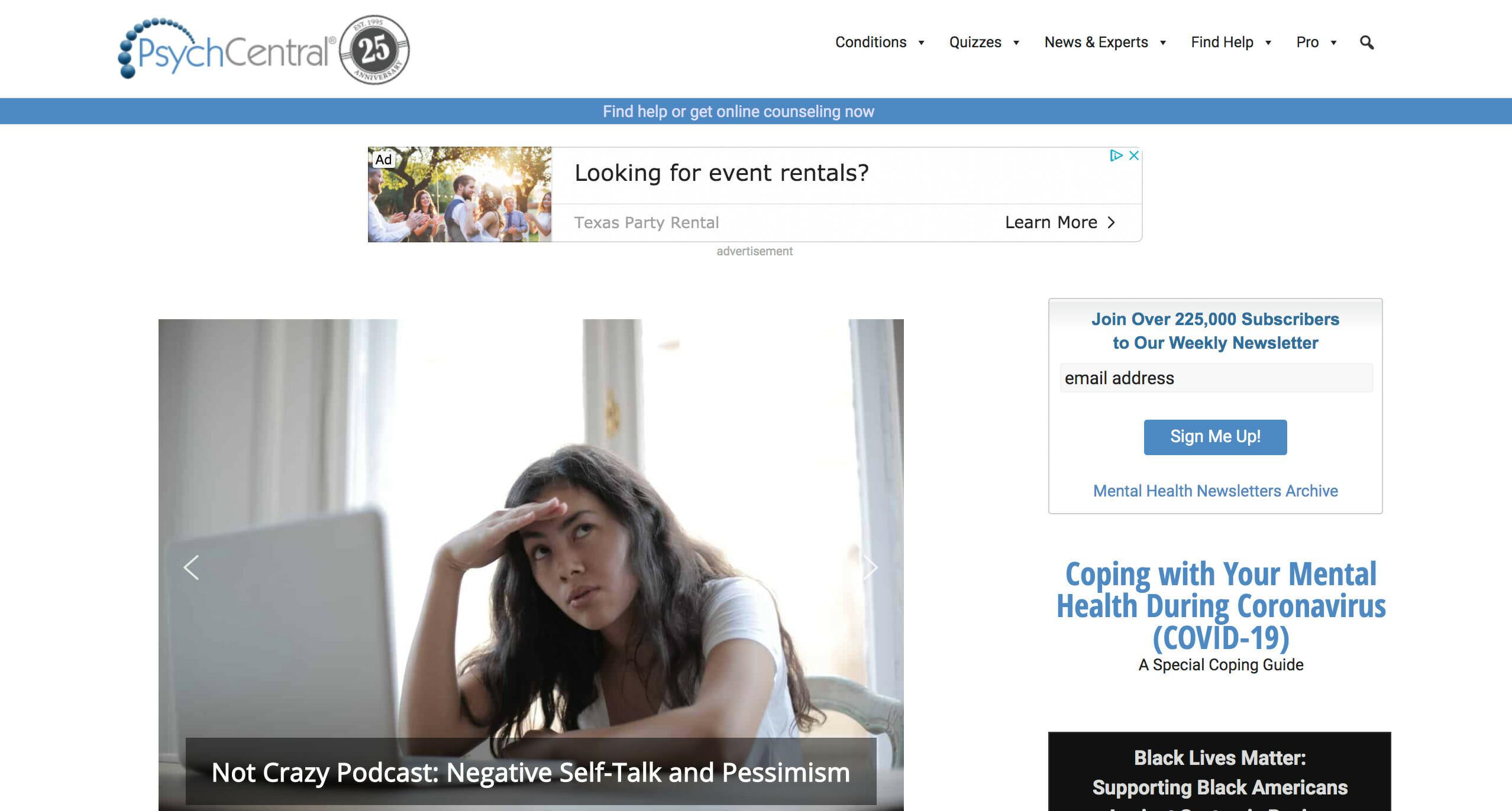Healthline Media acquires PsychCentral