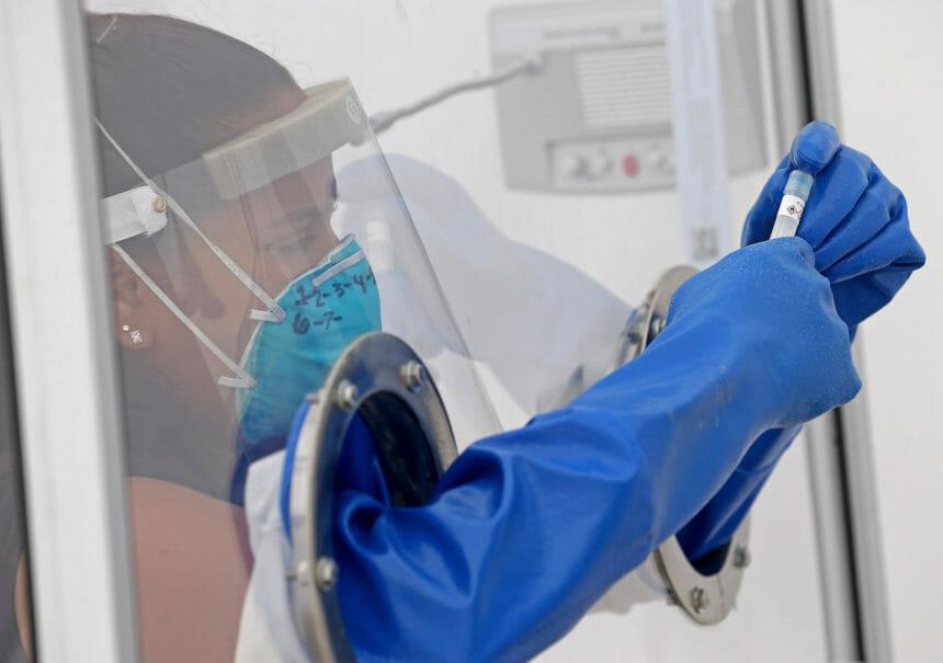 NEW Health COVID-19 testing site