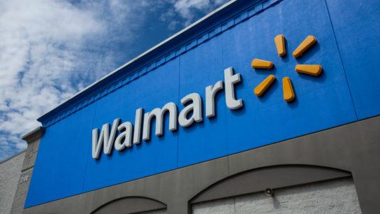 Image of Walmart store