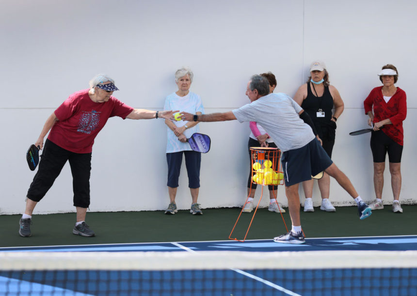 Seniors Enjoy Group Activities At Florida Retirement Center After Being Fully Vaccinated