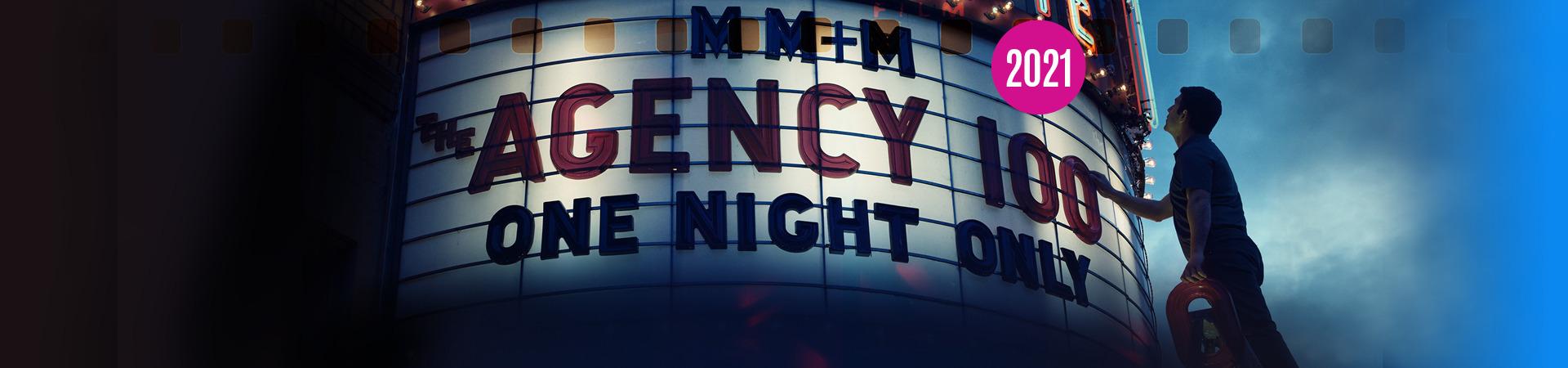 MM+M Agency100 2021 Banner